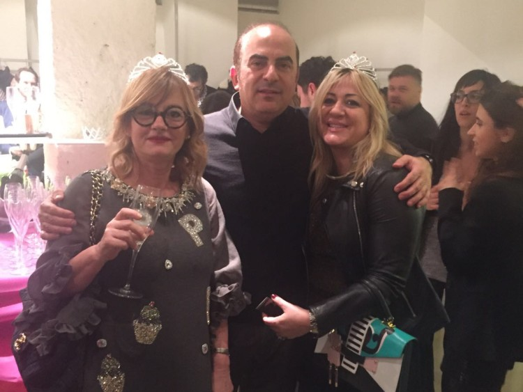 Mr.Sami Bazzi with Mrs.Rina Mencavelli & Ms.Angelica De Guglielmo