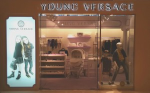 Young Versace Dubai Mall